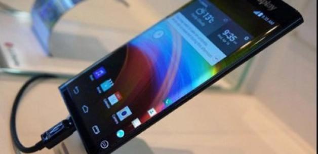 LG'den İki Kenarı Kavisli Akıllı Telefon Sürprizi