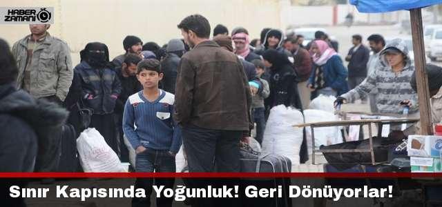 400 Suriyeli Daha Bugün Dönüş Yolundaydı!