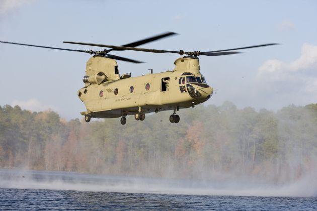 Ağır Yük Helikopteri Cumhurbaşkanlığı Sarayı'na Tahsis Edilecek