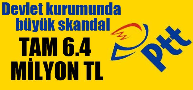 PTT Çalışanları Tarafından Büyük Skandal !