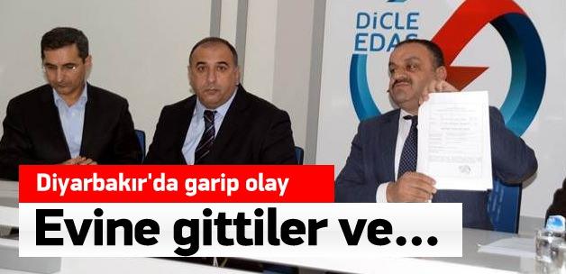 DEDAŞ Genel Müdürü'nün Kayıp Kaçak Kontrolü İçin Sayacını Söktüler
