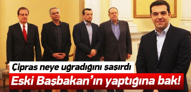 Yeni Yunanistan Başbakanı Çipras'a Şok Süpriz