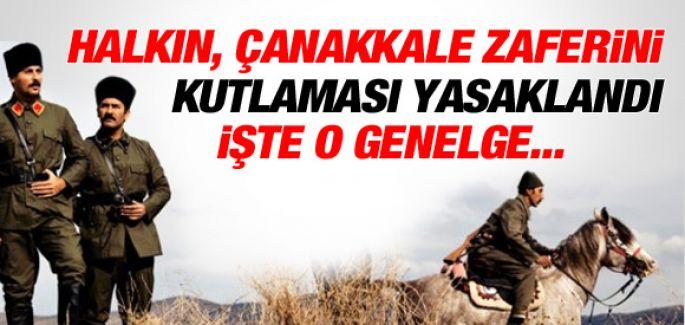Çanakkale Valiliği'nden , Gelibolu Zaferi Kutlamalarına Yasak !
