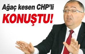 Ağaç Kestiren CHP'li Yalova Belediye Başkanı Konuştu!