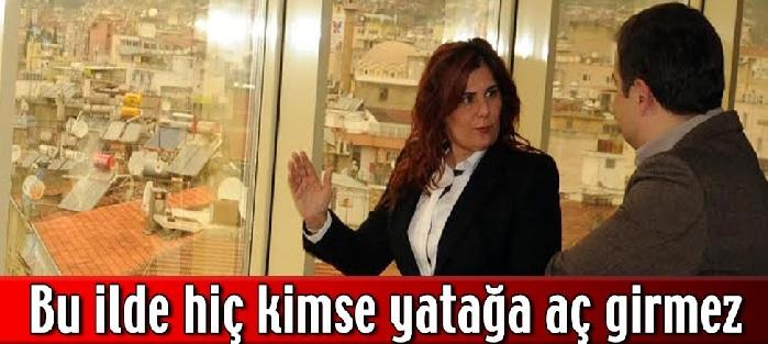 """Çerçioğlu """"Hiç Kimse Yatağa Aç Girmez"""""""
