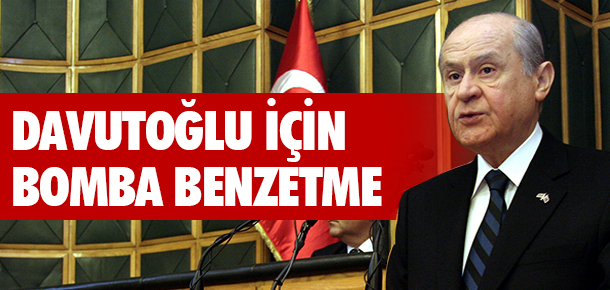 Bahçeli'den Davutoğlu'na Şok Benzetme!