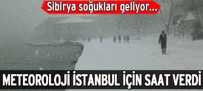 Meteoroloji İstanbul'luları Uyardı Kar Geliyor!
