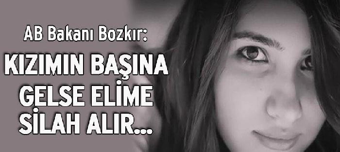 AB Bakanı Volkan Bozkır'ın Özgecan Aslan Açıklaması