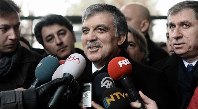 Abdullah Gül,ün İç Güvenlik Paketi Eleştirisi
