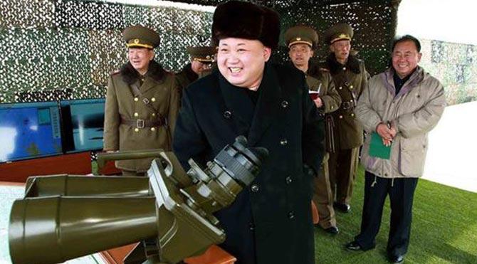 Kim Jong-un'dan ABD ve Güney Kore'ye Gözdağı