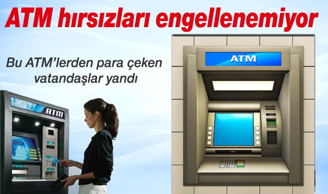 ATM Hırsızları Yine İş Başında!