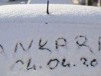 Ankara'da Kar Süprizi