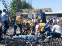 Kahramanmaraş'ta İnşaat Çöktü: 9 İşçi Yaralı