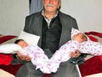 85 Yaşında İkiz Çocuk Sahibi Oldu