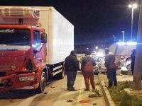 Bandırma'da Kan Donduran Trafik Kazası!