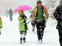 İstanbul'da ve Bazı İl ve İlçelerde Okullara Kar Tatili