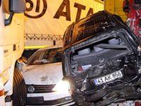 Gölcük'te Zincirleme Kaza: 40 Araç Birbirine Girdi!