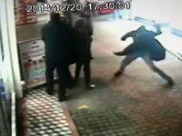 Yengesini Sokak Ortasında Sopayla Dövdü (Zonguldak)