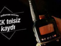 Ankara Patlaması Sonrası PKK Telsiz Kaydı Ortaya Çıktı