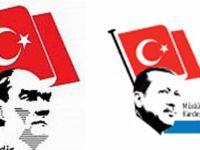 Erdoğan Logolu Yerel Gazete