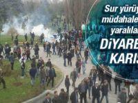 Diyarbakır - Sur Yürüyüşüne İzin Verilmedi Ortalık Karıştı!