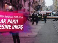 İstanbul Patlaması Tweetini Atan AK Parti'li Üyeye İhraç
