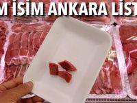Ankara'da Taklit ve Tağşiş Yaptığı Belirlenen Firmalar Listesi