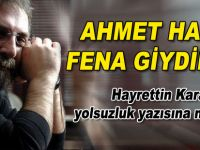 Ahmet Hakan Hayrettin Karaman'ın Yolsuzluk Yazısına Ne Dedi?