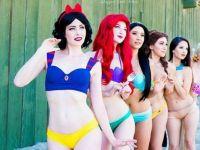 Disney Prensesleri İnsan Olsaydı Nasıl Bikini Seçerdi?