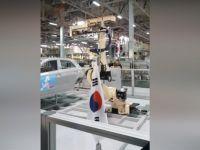 Hyundai Fabrikasında Robotlardan Mehter Gösterisi