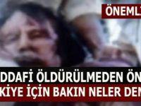 Kaddafi'nin Türkiye Hakkındaki Söz ve Düşünceleri