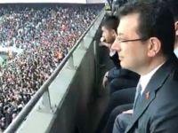 Ekrem İmamoğlu, Vodafone Park'ta Beşiktaş-Başakşehir Maçını Takip Etti