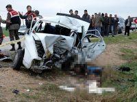 """Adana'da Korkunç Kaza ! """"5 Ölü"""""""