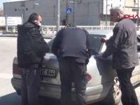 Aynı araçtaki 6 kişiye toplam 19 bin lira ceza