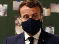Macron'un korona testi pozitif çıktı