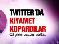 Melih Gökçek ile Aykut Erdoğdu Twitter'da Birbirine Girdi