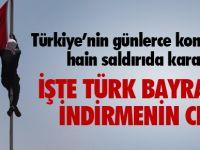 Türk Bayrağını İndirmenin Cezası!