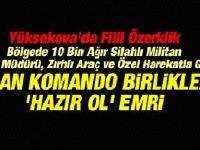 TSK Terör Bölgesine Komando Sevkiyatına Başladı