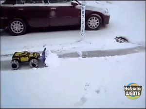 Kar Küremenin En Zevkli Yolu