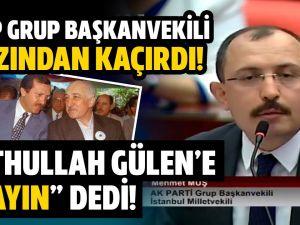 AKP'li Vekil 'SAYIN FETHULLAH GÜLEN' dedi! Meclis Başkanı uyardı! Mecliste tartışma çıktı!