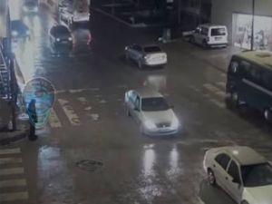 Ankara'da Mobese Kameralarına Yansıyan Kazalar